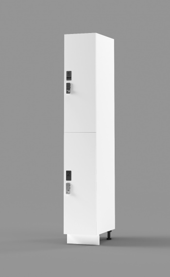 Plastic Laminate 2-Tier Locker