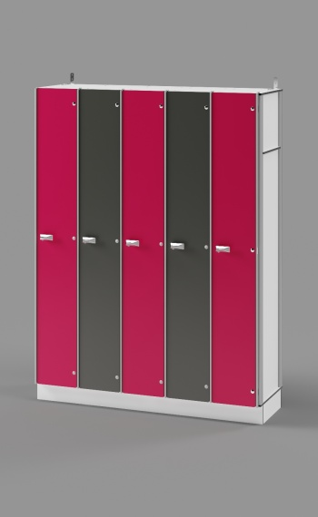 Single-Tier Locker