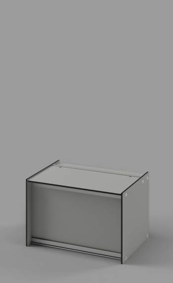 Lower Storage Box with Lift-up Lid