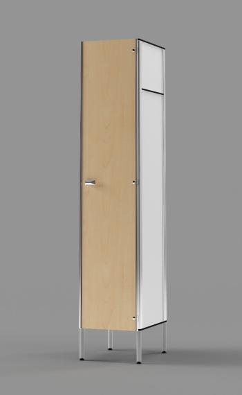 Phenolic 1-Tier Locker