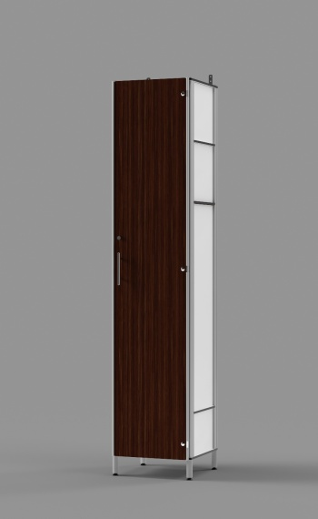 Executive Employee Locker with Lockable Inner Compartment