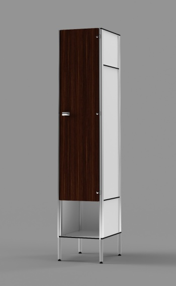 Phenolic 1-Tier Locker With Cubby