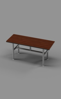 Single Free Standing Bench