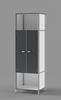 "Athletic Locker - Model: TENNIS DOUBLE 71""H"