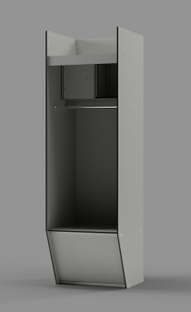 "Athletic Locker - Model: SCHOLARSHIP 80""H"