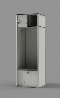 "Athletic Locker - Model: MVP 72""H"