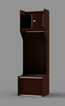 "Athletic Locker - Model: CHAMPION 80""H with Upper Shelf"