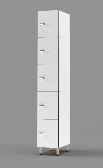 Phenolic 5 - Tier Locker