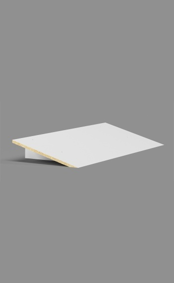 Plastic Laminate Slope Top - 3 Wide